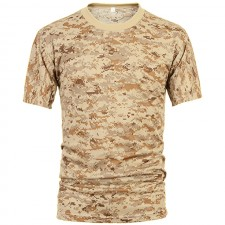 Deltacs Camouflage Quick Dry T-Shirt - Digital Desert