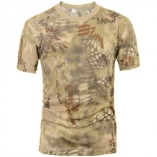 Deltacs Camouflage Quick Dry T-Shirt - Highlander