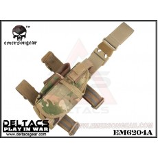EMERSON Tornado Universal Tactical Thigh Holster (EM6204A) - Multicam (Leftt Handed)