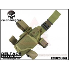 EMERSON Tornado Universal Tactical Thigh Holster (EM6206A) - OD Green (Left Handed)