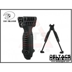 Big Dragon T-POD Tactical Foregrip Bipod - Black