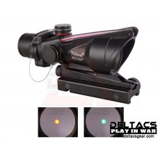 Trijicon ACOG style 1x32 TA31 Type Red/Green Dot Scope - Black