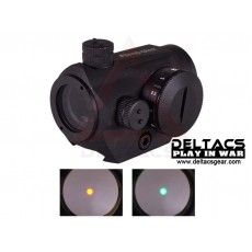 Aimpoint Style Micro T1 Red/Green Dot Scope - Black