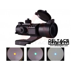 Aimpoint Style Comp M3 Red/Green/Blue Dot Sight with Killflash and Cantilever Mount - Black