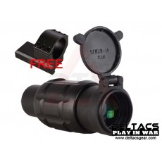 Aimpoint Style 3X Magnifier with Scope Twist Mount - Black