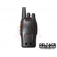 BaoFeng BF-A1 Portable Two-Way Radio Device - Black