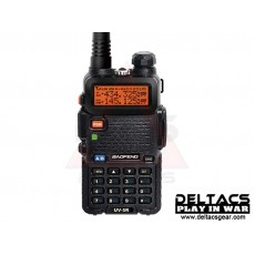 BaoFeng UV-5R Portable Dual Band Two-Way Radio Device - Black