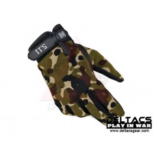 Deltacs Tactical Full Finger Skidproof Gloves - Multicam (M-XL)