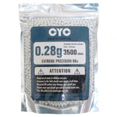 CYC 0.28g 6mm High Precision BB Pellet 3500pcs