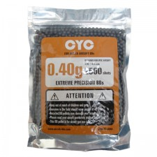 CYC 0.40g 6mm High Precision BB Pellet 2500pcs