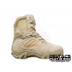 DT 8'' Side Zip Tactical Boots - Tan(39-45)
