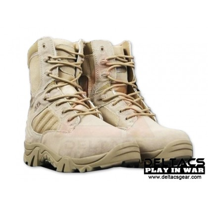 DT 8'' Side Zip Tactical Boots - Tan(39-45)