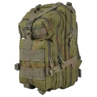 Deltacs 3P Assault Backpack with Hydration Compartment - OD Green