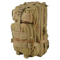 Deltacs 3P Assault Backpack with Hydration Compartment - Tan