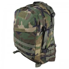 Deltacs 3D Tactical Molle Backpack - Woodland