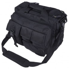 Deltacs Assault Camo Carrying Laptop Bag - Black