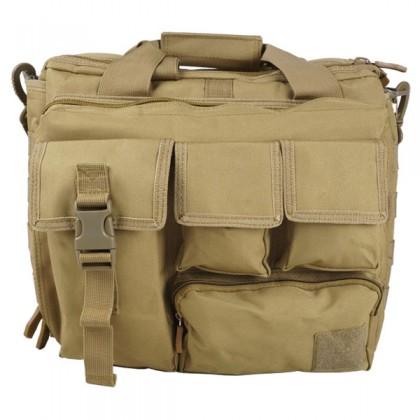 Deltacs Assault Camo Carrying Laptop Bag - Tan