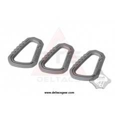 FMA Carabiner D-ring Quick Hook Set of 3 - Foliage Green