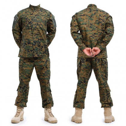 Deltacs Military Battle Dress Uniform(BDU) Set - Digital Woodland (XS-XXL)