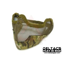Deltacs Gen2 Metal Mesh Lower Half Mask - Multicam