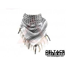 Deltacs Arab Scrim/Shemagh Scarf - White