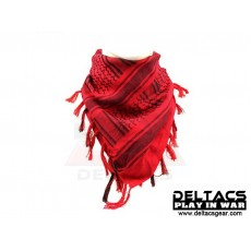 Deltacs Arab Scrim/Shemagh Scarf - Red