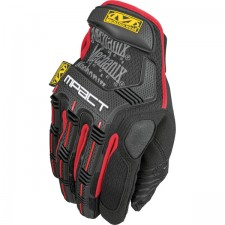 MECHANIX M-Pact Impact Glove - Black/Red