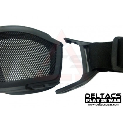 Deltacs Wire Mesh Tactical Locust Goggles - OD Green
