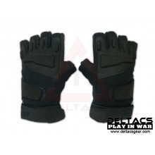 BHD Half Finger Assault Gloves - Black(M-XL)