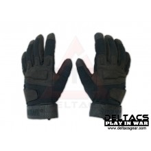 BHD Full Finger Assault Gloves - Black(M-XL)