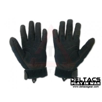BHD Full Finger Assault Gloves - Black(M-XL)