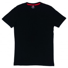 Deltacs Round Neck Plain Tee - Black