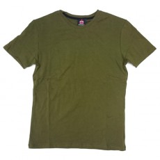 Deltacs Round Neck Plain Tee - OD Green