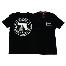 Deltacs Glock Perfection Back Printed Tee - Black