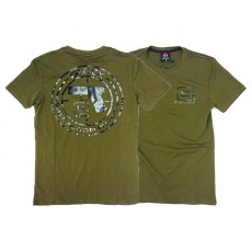 Deltacs Glock Perfection Back Printed Tee - OD Green