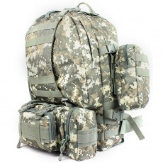 Deltacs 3-Day Assault Tactical Camping Backpack - ACU
