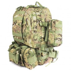 Deltacs 3-Day Assault Tactical Camping Backpack - Multicam