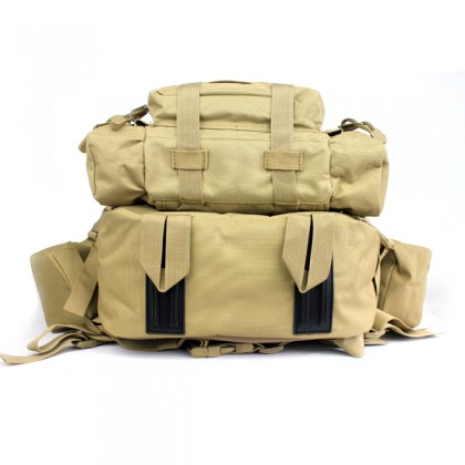 Deltacs 3-Day Assault Tactical Camping Backpack - OD Green