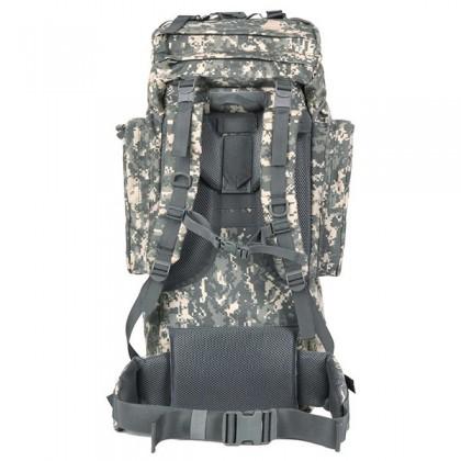 Deltacs 65 Litre Large Camping/Hiking Backpack - ACU