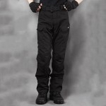 Deltacs Water Resistant IX7 Urban Tactical Cargo Pants – Black
