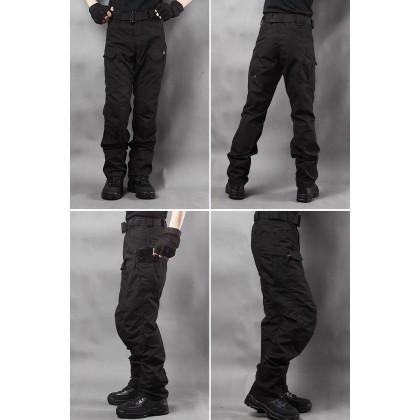 Deltacs Water Resistant IX7 Urban Tactical Cargo Pants – Black