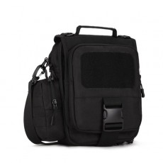 Protector Plus 3-in-1 Assault Transform Sling Pack with Side Pouch(K307) - Black
