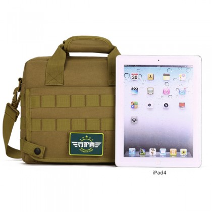 Protector Plus 10 Inch Tablet Tactical Sling Bag(K309) - Black