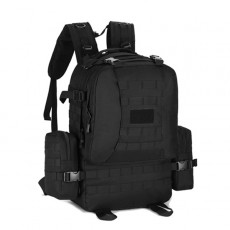 Protector Plus 3-Days Assault Backpack 50 Litre(S409) - Black
