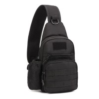 Protector Plus Rush Sling Pack with Water Bottle Compartment(X216) - Black