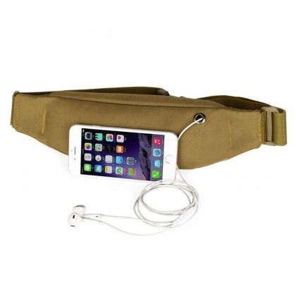 Protector Plus Low Profile Waist Pouch(Large)(Y115) - Digital Desert