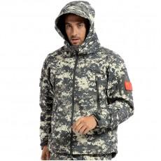 Deltacs Shark Skin SoftShell Water Resistant Combat Jacket - ACU