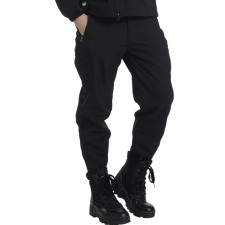 Deltacs Shark Skin SoftShell Water Resistant Combat Pants - Black