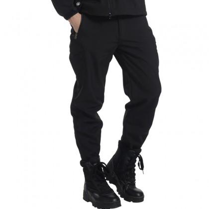Deltacs Shark Skin SoftShell Water Resistant Combat Pants - Black