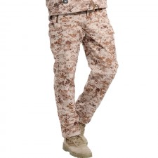 Deltacs Shark Skin SoftShell Water Resistant Combat Pants - Digital Desert